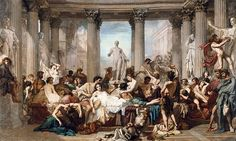 File:THOMAS COUTURE - Los Romanos de la Decadencia (Museo de Orsay, 1847. Óleo sobre lienzo, 472 x 772 cm).jpg