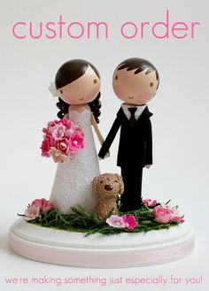 love love love this cake topper! they can even put sadie on it!