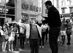 Drunk Old Man vs Evangelical Preacher