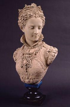 Mary Queen of Scots Albert Ernest Carrier-Belleuse Date: ca. 1860–1869