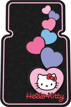 hello kitty car accessories - cute floor mats!