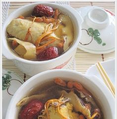 I have read about the usage of this Cordyceps Militaris  in some Chinese Soup Book some months back but I didn't give it a try because I t...