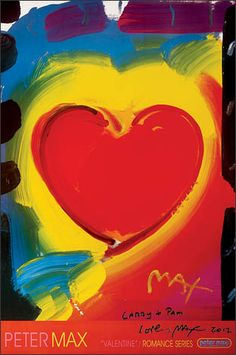 valentine by peter max 2000