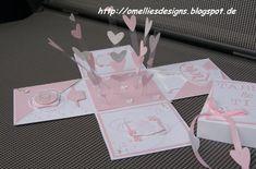 Omellie's Designs: Blast Box for Wedding