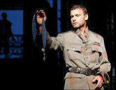 Liev Schreiber in Macbeth, 2006  Delacorte