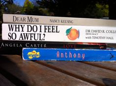 Book Spine Poetry  Boarding school letter