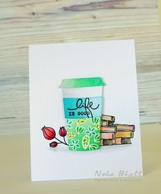 Periwinkle Creations: Spring- Coffee Lovers Bloghop