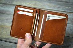 credit card wallet Handmade Slim Credit Card Leather Wallet Gift for Him Minimal Wallet, Minimalist Leather Wallet, Simple Wallet, Small Leather Wallet, Handmade Leather Wallet, Leather Card Wallet, Slim Wallet, Leather Bifold Wallet, Leather Wallets