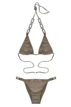 CAPRI Khaki Halter Bikini