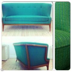 Helt underbar nätt liten 60-tals soffa | Stockholm