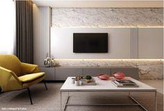 Interior Flat, Cafe Interior Design, Living Room Tv Unit Designs, Bedroom Cupboard Designs, Painel Tv Sala Grande, Modern Tv Wall Units, Build A Fireplace, Apartment Walls, Tv Wall Design