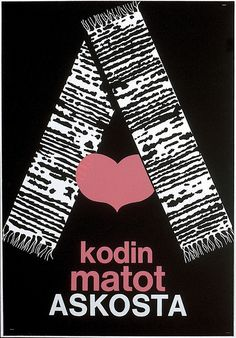 Kodin matot askosta - Askon vanha mainos Finland, Vintage Designs, Furniture Design