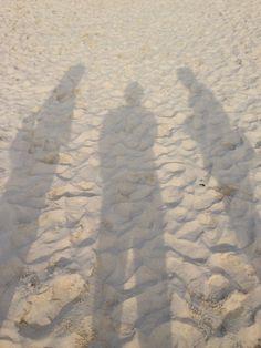 影とビーチ01