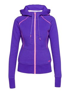 Adrenaline Hoodie with Contrast Piping