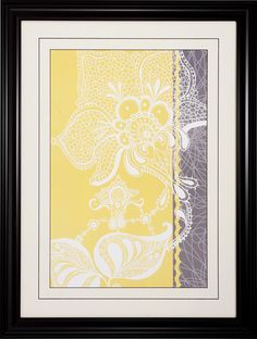 Wild Lace 2 Piece Framed Graphic Art Set