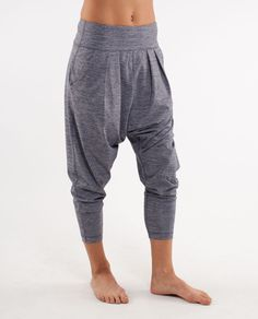 This type of pant has been worn for years in France (I'm sure other countries in Europe as well...but couldn't say for certain) the long variety too...nothing new here.  Comfy as hell, I have a few pairs