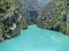 Un air de Mexique... au Lac de Sainte-Croix, Gorges du Verdon (Alpes de Haute Provence / Var)