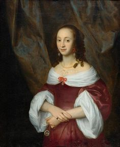Portrait einer edlen Dame by Cornelis Jonson van Ceulen