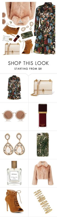 """""""Keep it Cozy: Fuzzy Coats II"""" by jychooi ❤ liked on Polyvore featuring Alice + Olivia, Fendi, House of Holland, Tom Ford, RIFLE, The Perfumer's Story by Azzi, Miss Selfridge, Forever 21, contestentry and fauxfur"""