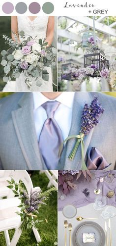 lavender and grey spring wedding colors 2020 When nature wakes up from its winter slumber, spring and summer are just around the corner, with big, colorful style, and they're just perfect for. Wedding Ceremony Ideas, Our Wedding, Wedding Venues, Dream Wedding, Perfect Wedding, Fall Wedding, Wedding Beauty, Wedding Table, Wedding Palette