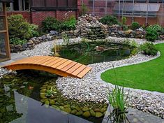 55 Awesome Backyard Ponds and Water Feature Landscaping Ideas