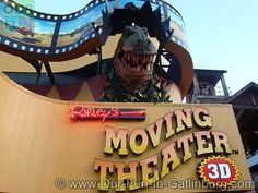 Ripley's 3D Moving Theater in Gatlinburg, TN.