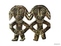 Картинки по запросу пермский звериный стиль близнецы