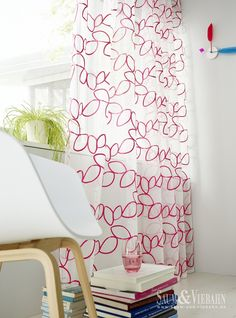 ALOHA de Saum: Aplicación bordada. / Aplicació brodada. #visillo #cortina #ontario #emotion #saum
