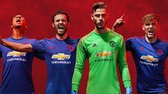 Revealed: The new adidas Manchester United away kit for 2016/17 - Official Manchester United Website