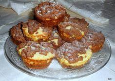 Reszelt túrós muffin