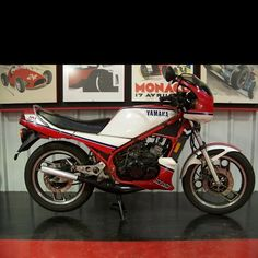 Yamaha RZ350 (1985) my first bike, can't wait til mines ready to ride (;