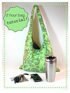 Diy back to school : DIY 2 HOUR BAG