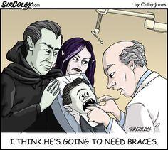 #Braces #Humor www.loudounorthodontics.com @Loudoun Business Orthodontics