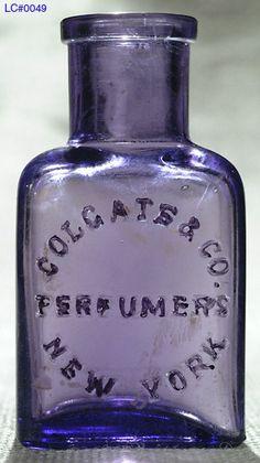Old Colgate Perfume Bottle