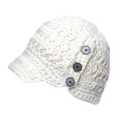 The Nobis Madison Knit Toque is hand knit for a level of quality that's uncommon. Large branded buttons add style to the design, and a teddy fur band makes the knit cap warm and cozy.