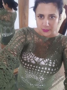 Andreia Lessa Knitting and Crochet: Bata croche