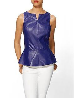 leather tops -