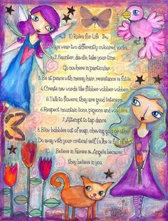 Willowing has wonderful art!  This one (and the video that goes with it) are great words to live by!