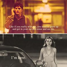 27 Notable Movie Lines..this one from Natalie Portman & Ashton Kutcher in film No Strings Attached Movie Love Quotes, Romantic Movie Quotes, Favorite Movie Quotes, Film Quotes, Cinema Quotes, Romantic Films, Book Quotes, Club 27, Movie Captions