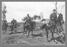 A small Honved cavalry unit on patrol somewhere in Axis occupied Galicia during Defence Force, Armed Forces, World War Ii, Ww2, Vintage Photos, Horses, Army, History, Pictures