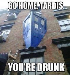 Dr Who ...   #tardis #humor #meme