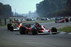 Niki Lauda clinched his 2nd World Championship at Monza in 1977