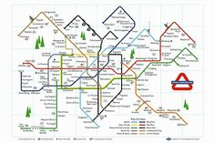 4. Frozen Underground Map Poster - These maps are lots of fun and come in various size prints.