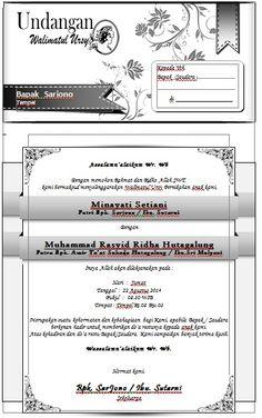 Download Undangan Walimatul Ursy format Docx   Everything Is Free Microsoft Word 2010, Microsoft Excel, Microsoft Office, E Invitation Wedding, Wedding Invitation Background, Free Cv Template Word, Ms Office Word, Wedding Album Design, Word Doc