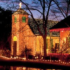 Cajun Christmas in Lafayette at Vermilionville. We used to visit at Christmas and for school field trips.