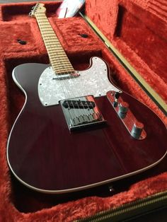 Fender Telecaster Deluxe 2000 Red Wine (Millenium Edition)