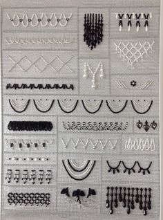 Time for an Update Best Picture For Bead Embroidery Patterns abaya For Your Taste You are looking fo Bead Embroidery Tutorial, Bead Embroidery Patterns, Embroidery On Clothes, Embroidered Clothes, Hand Embroidery Stitches, Embroidery Jewelry, Hand Embroidery Designs, Embroidery Techniques, Tambour Beading