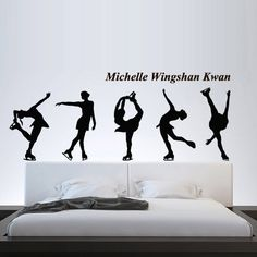 This item is unavailable How To Remove, How To Apply, Painting Quotes, Kids Bedroom, Dream Bedroom, Wall Decal Sticker, Figure Skating, Namaste, Competition
