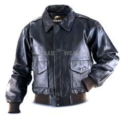 87698445efb Vintage A2 Aviator Flight Pilot Real Leather Jacket Air force Aviation  Jacket