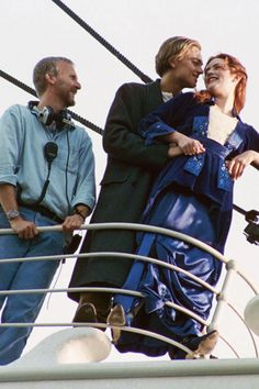 Titanic (1997); behind the scenes with director James Cameron, Leonardo DiCaprio & Kate Winslet